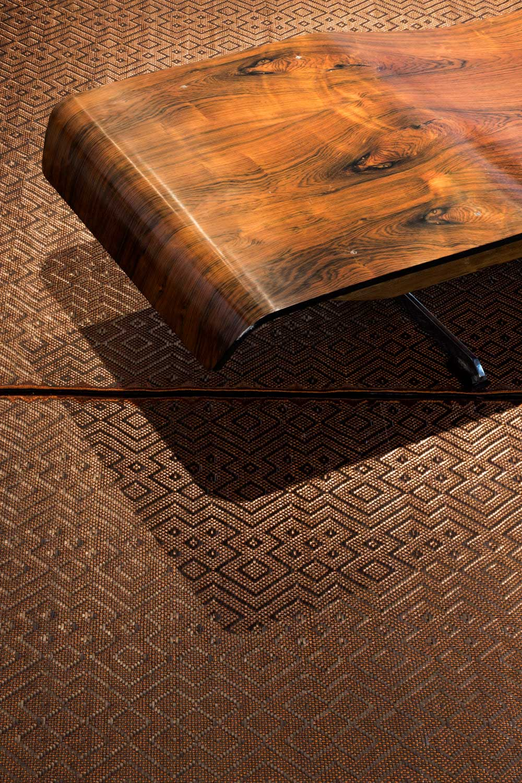 Jorge Lizarazo's rugs for Nilufar Gallery at Design Miami Basel 2017   Yellowtrace