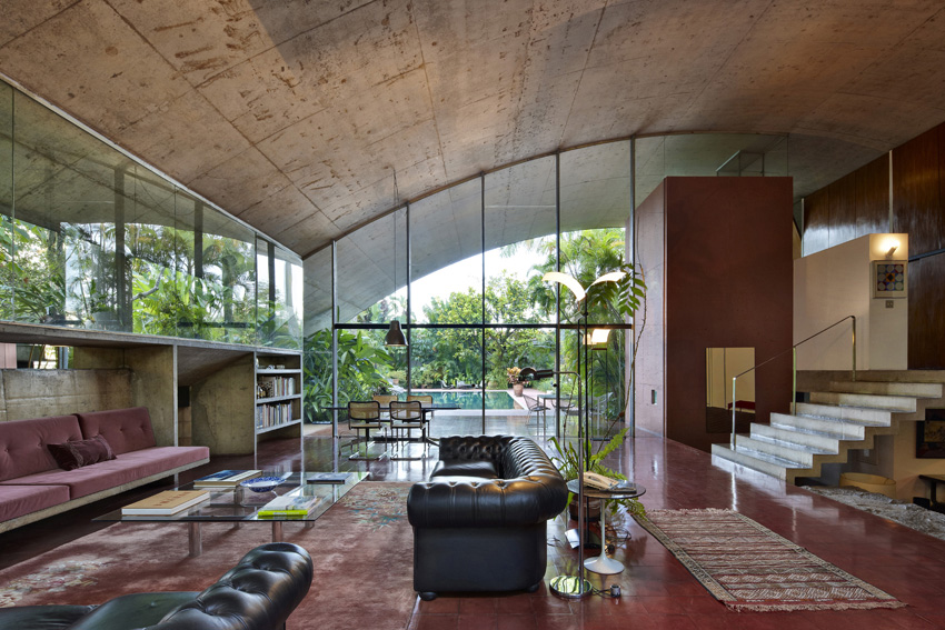 Marlene Milan House by Marcos Acayaba | Yellowtrace