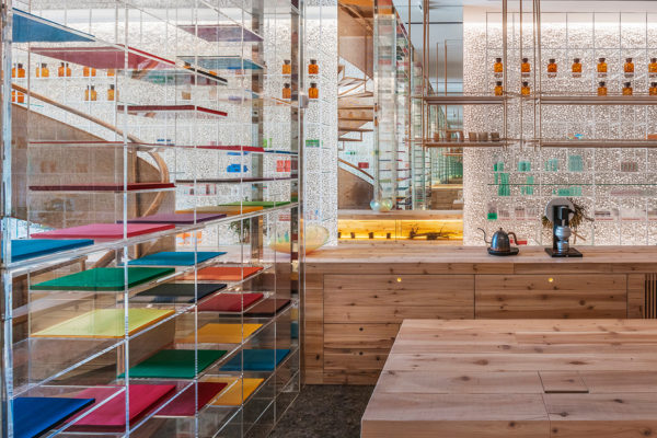 Molecure Pharmacy in Taichung, Taiwan by Waterfrom Design | Yellowtrace