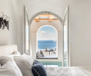 'Porto Fira Suites' Hotel in Santorini by Interior Design Laboratorium | Yellowtrace