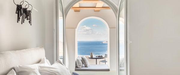'Porto Fira Suites' Hotel in Santorini by Interior Design Laboratorium | Yellowtrace
