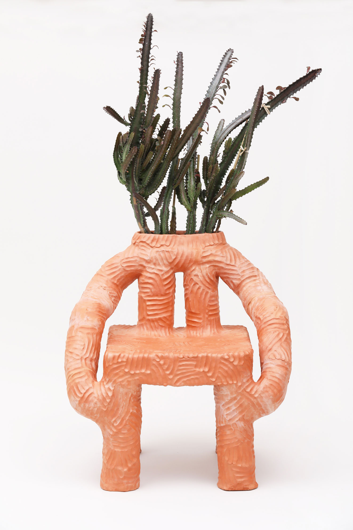 Terracotta Furniture by Chris Wolston | Yellowtrace