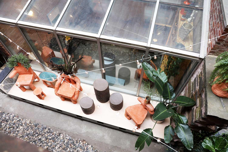 Terracotta Furniture by Chris Wolston | Yellowtrace