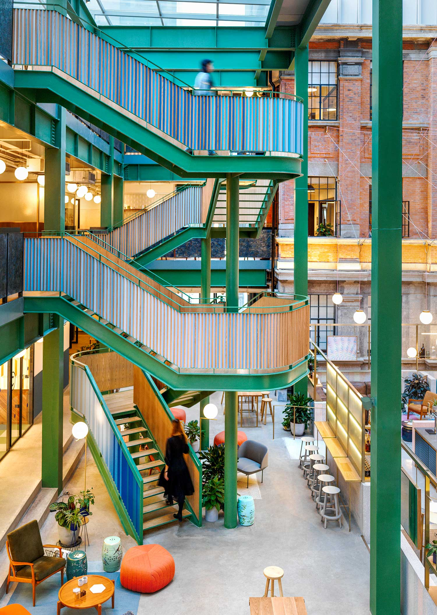 Wework Weihai Road by Linehouse | Yellowtrace