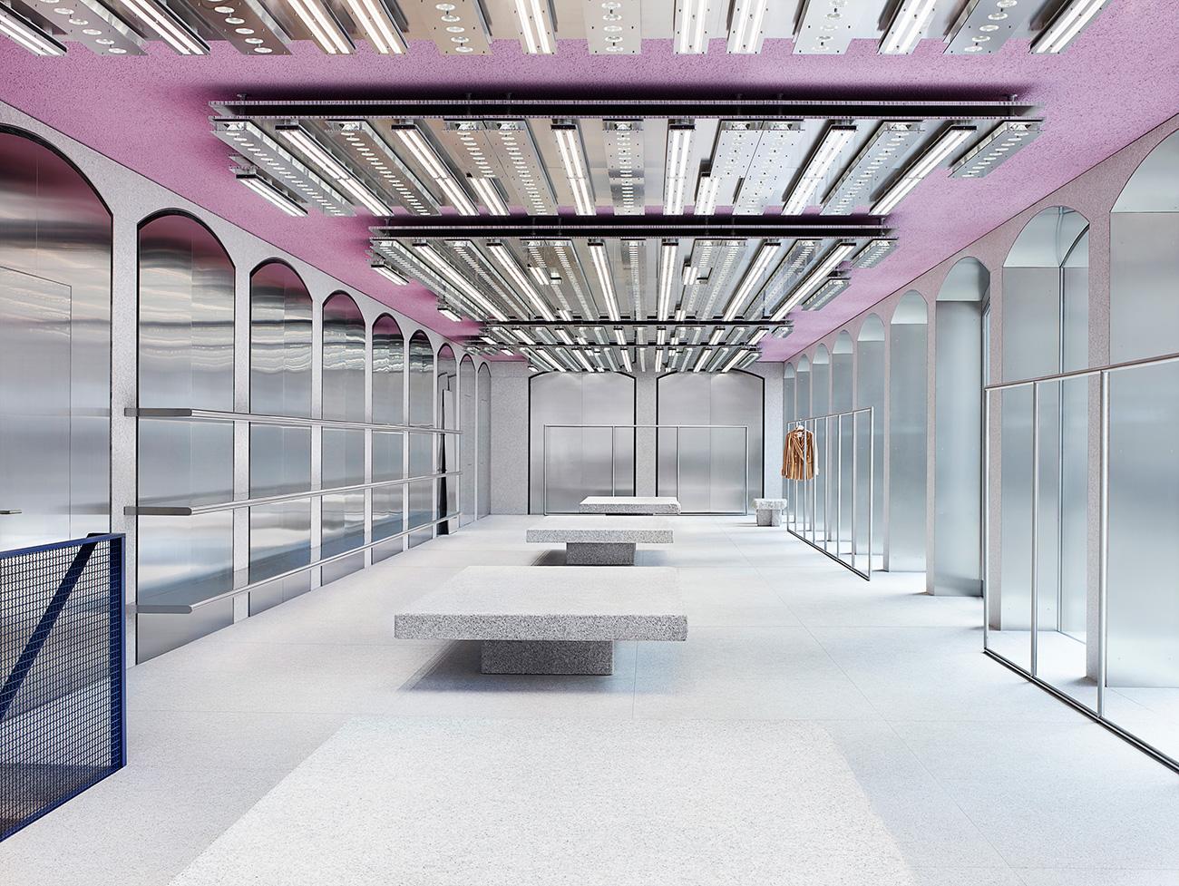 Acne Studios Milan Store | Yellowtrace