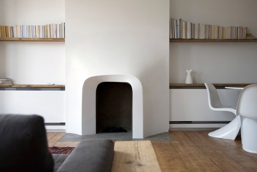 Focal Shift Fireplace in London, UK by Scenario Architecture | Yellowtrace
