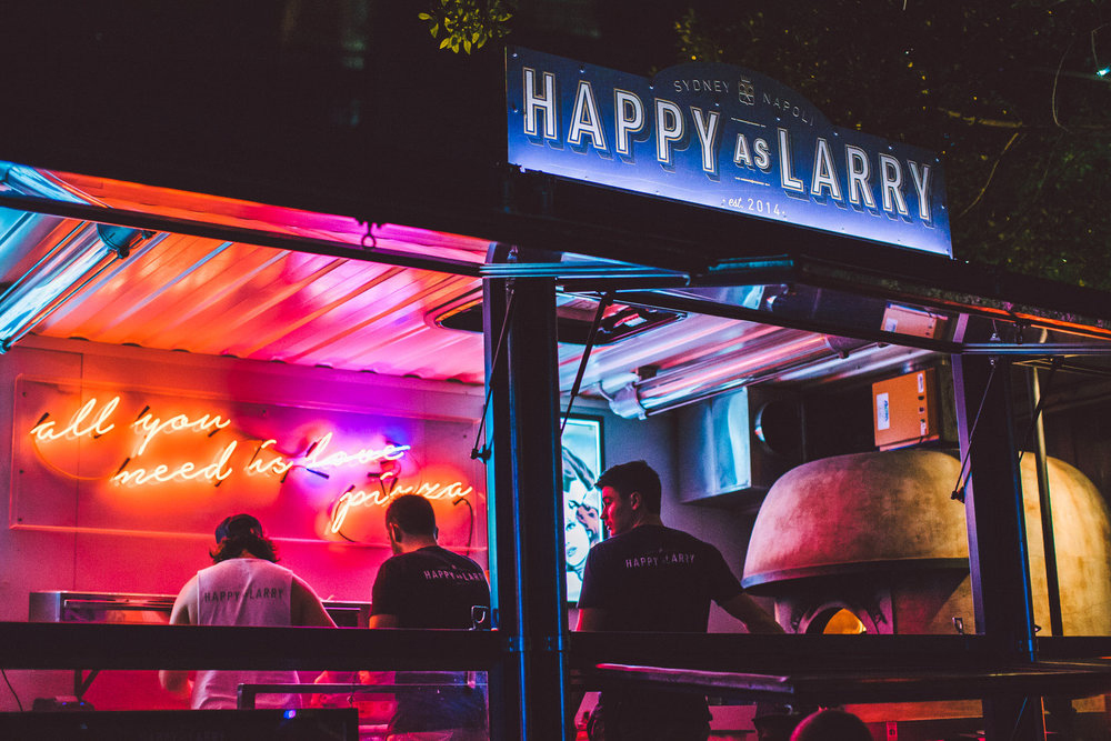 Happy as Larry by ACME & CO | Yellowtrace