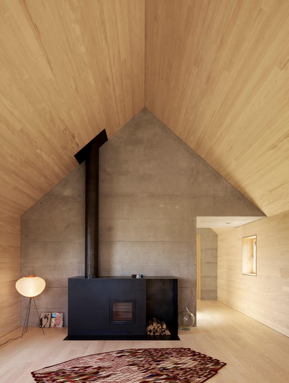 House Baumle in Lochau Austria by Bernardo Bader   Yellowtrace