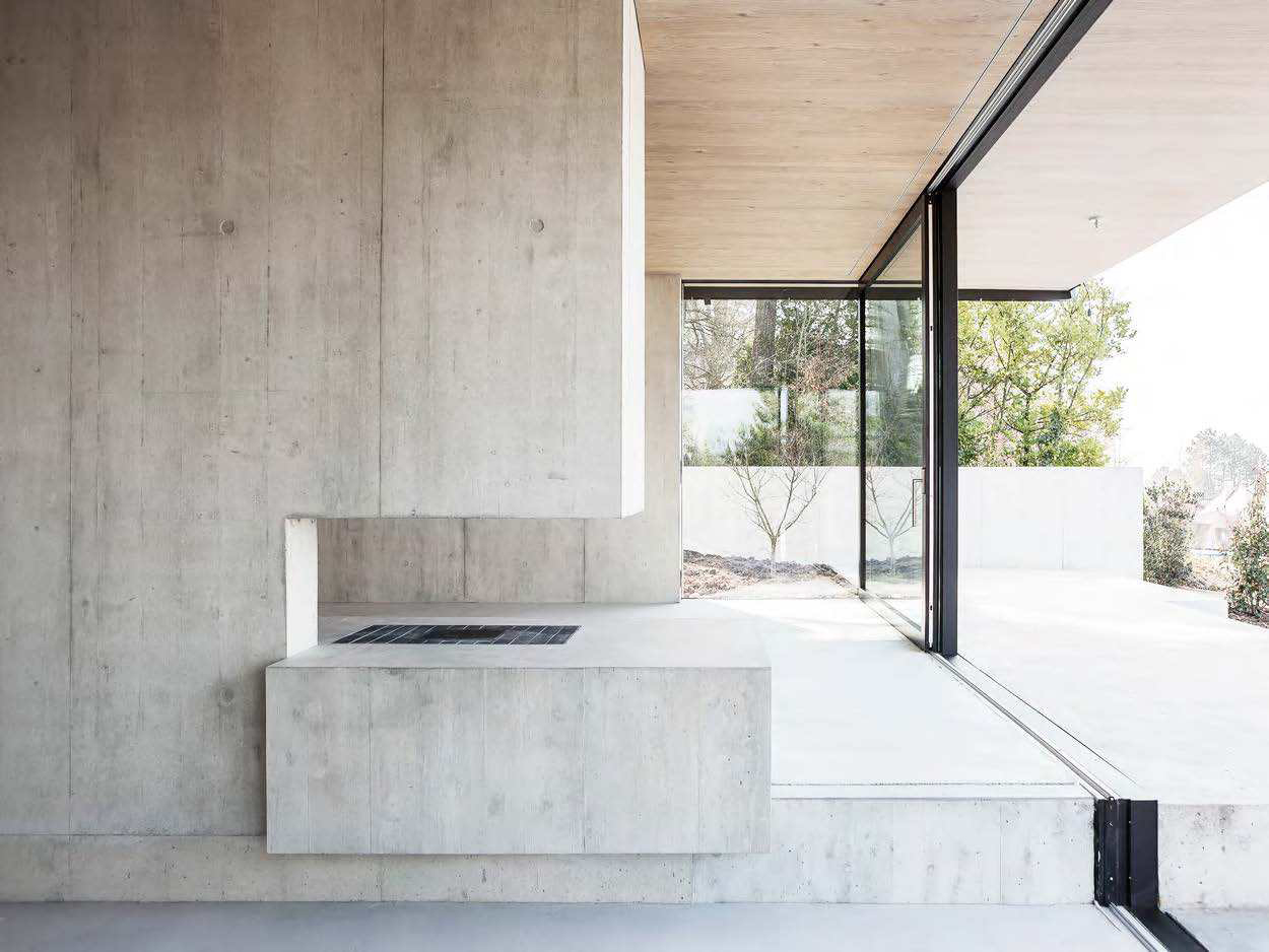 House in Riehen by Reuter Raeber Architects   Yellowtrace