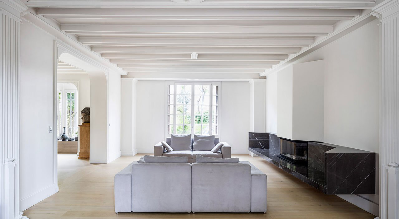 Maison a Colombages 19th Century Restoration in Southeast Paris   Yellowtrace
