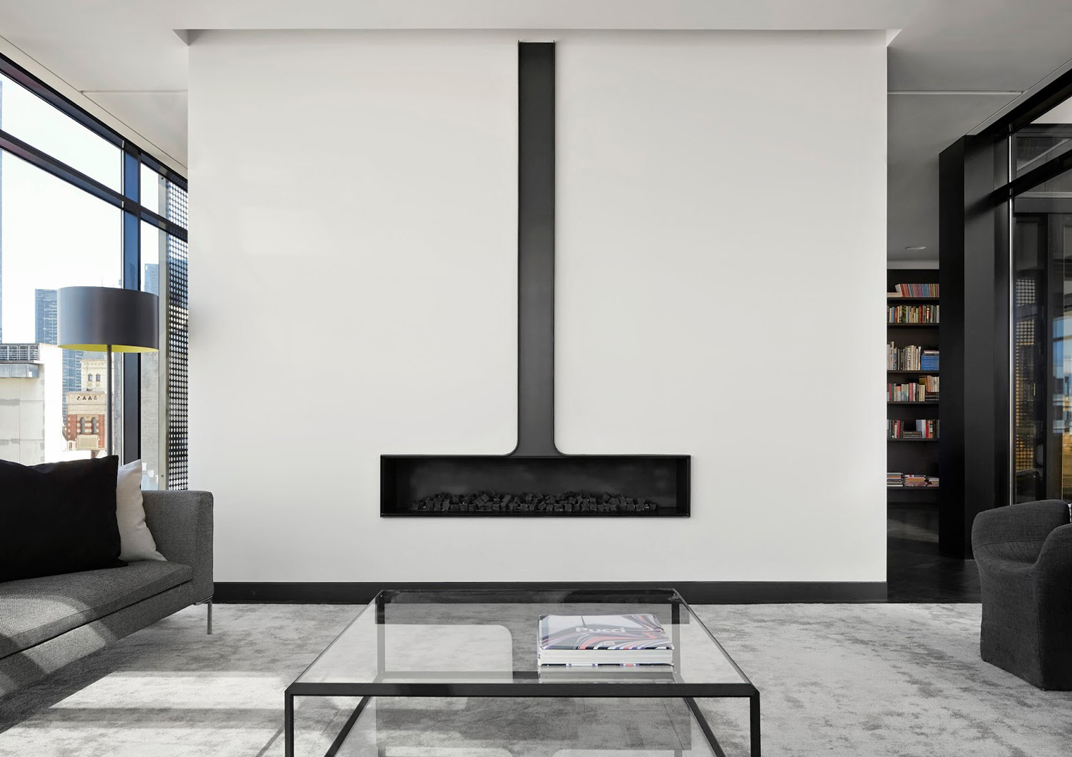 Melbourne Residence VIC by Elenberg Fraser. Photo by Peter Clarke   Yellowtrace