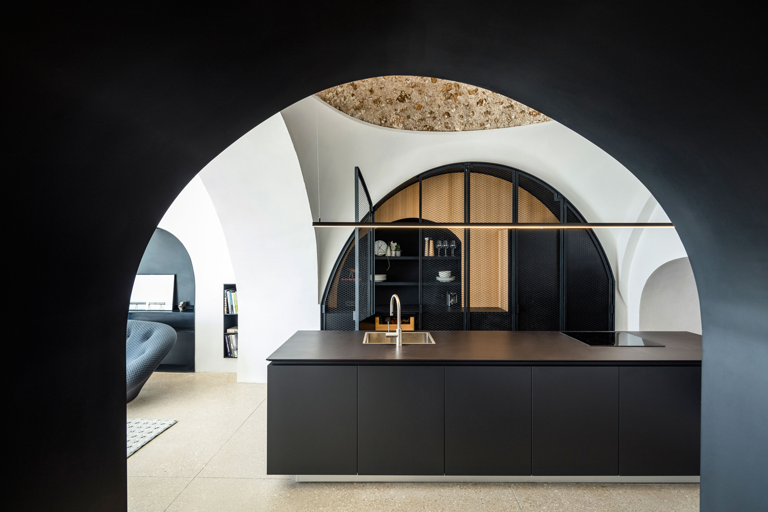 Modern Cave by Pitsou Kedem Architects | Yellowtrace