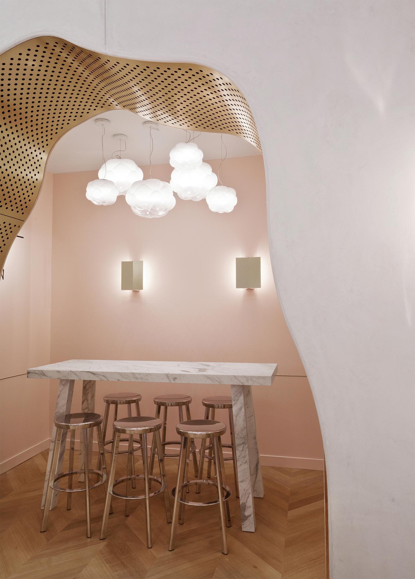 Noglu Restaurant in Paris by Mathieu Lehanneur | Yellowtrace