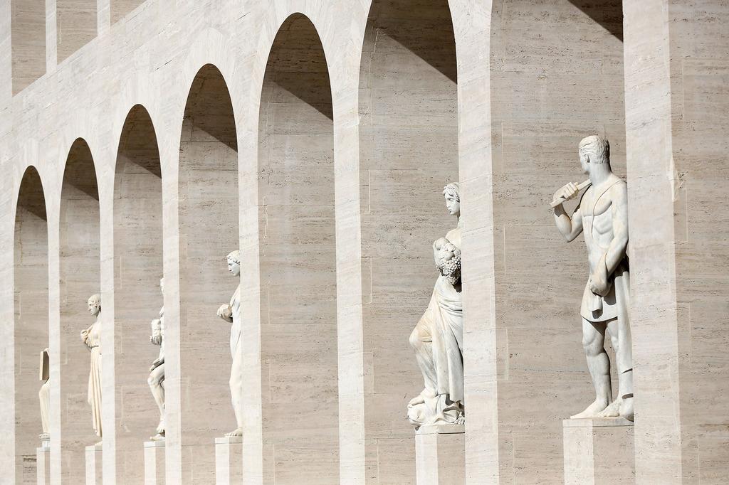 Palazzo della Civilta in Rome, Italy | Yellowtrace