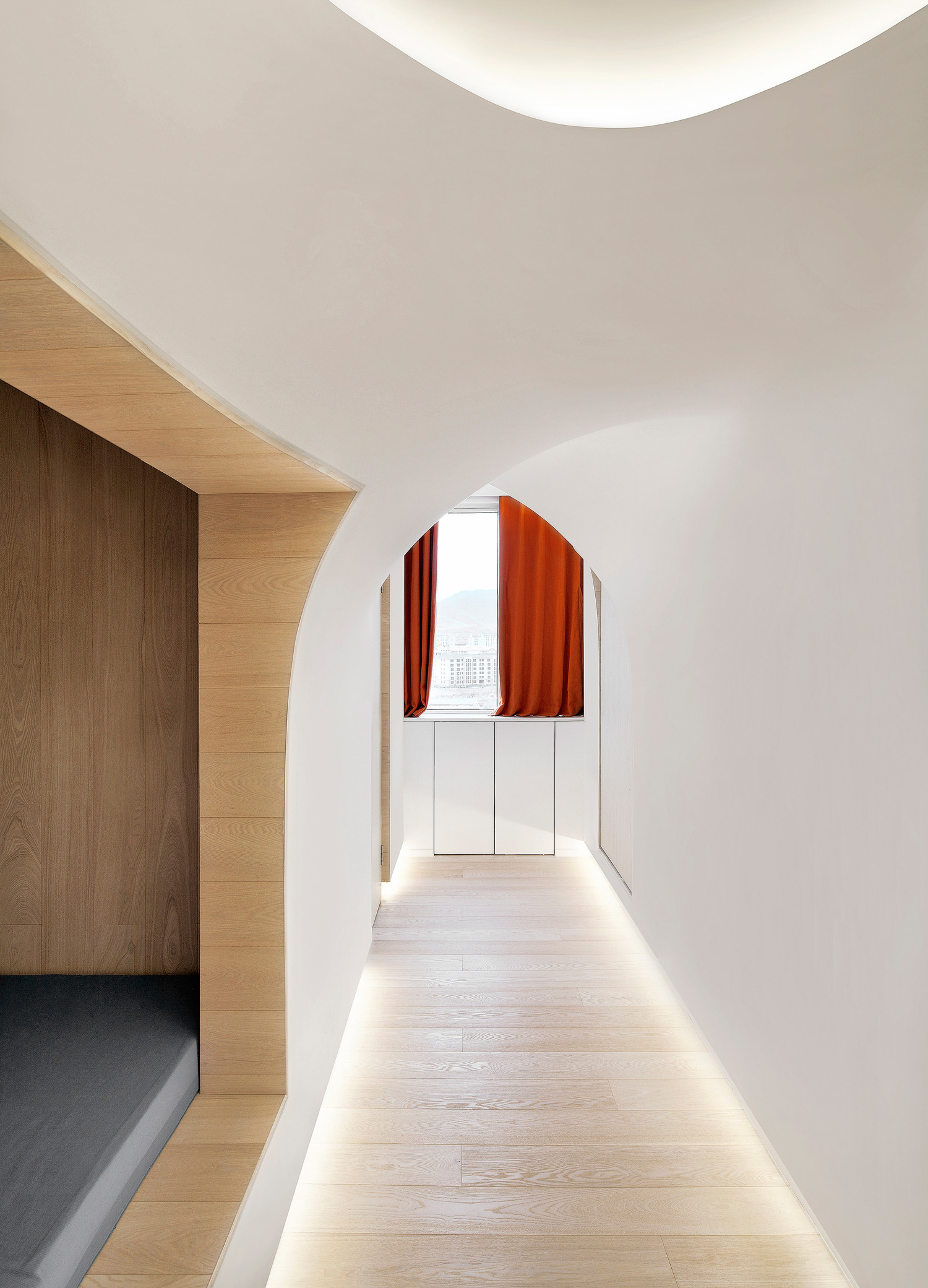 Snow Apartment by Penda | Yellowtrace