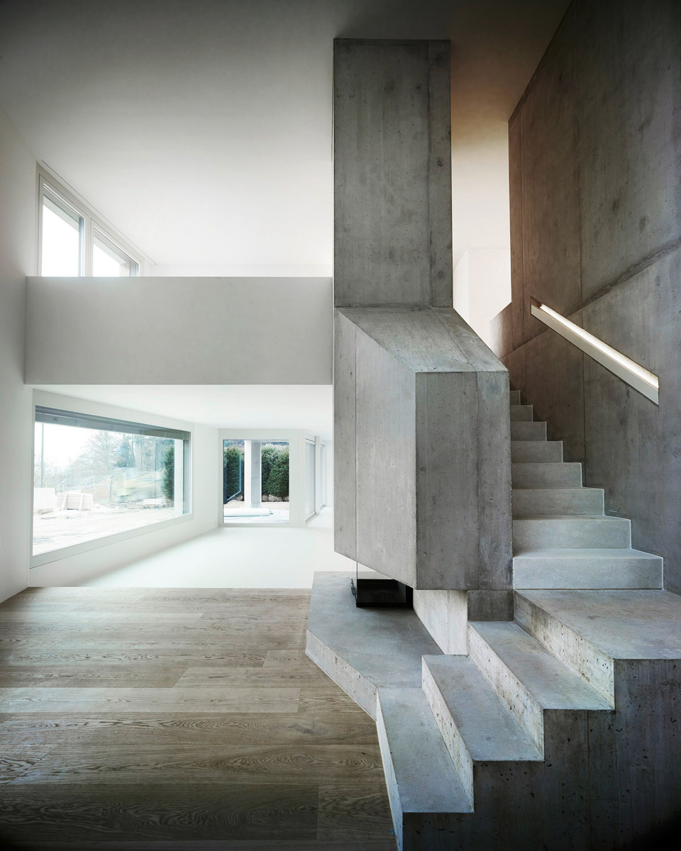 Villa Ensemble Near Zurich, Switzerland by AFGH Architects   Yellowtrace