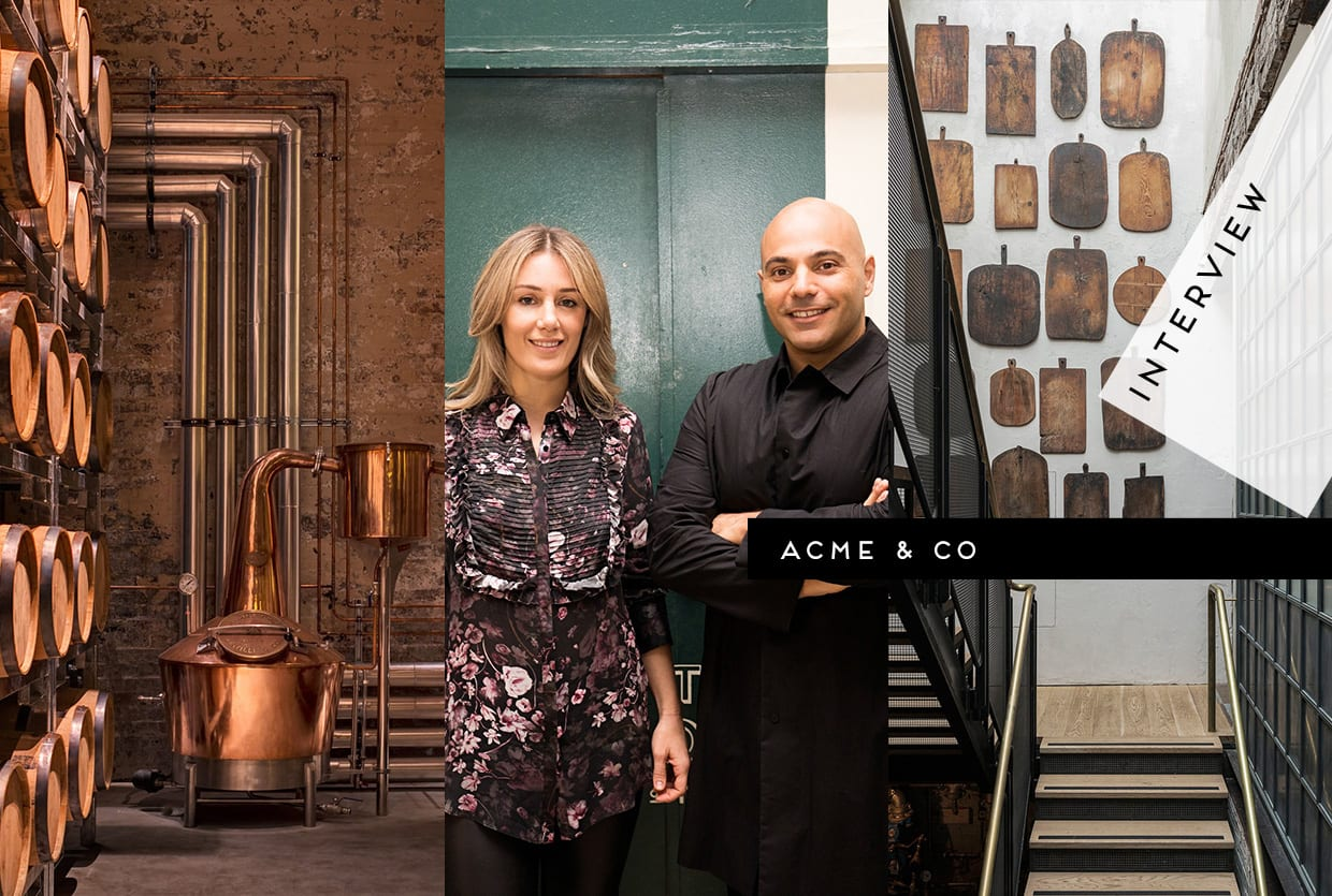 Interview With Caroline Choker And Vince Alafaci Of Acme Co