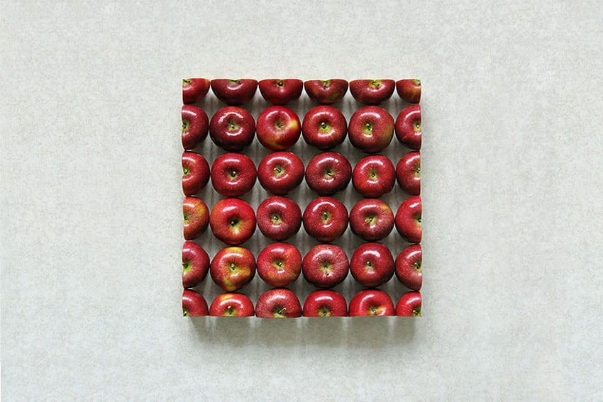 Geometric Food Art by Sakir Gokcebag | Yellowtrace