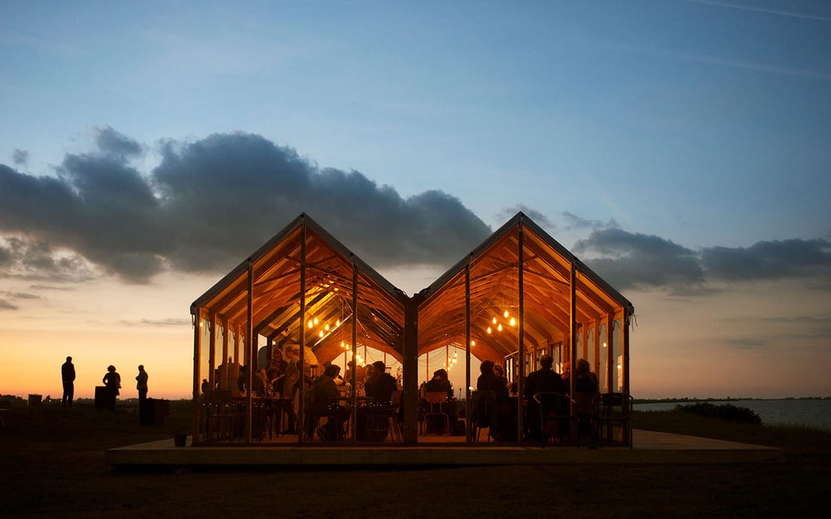 Lighthouse Island Pop-Up Restaurant in Amsterdam   Yellowtrace