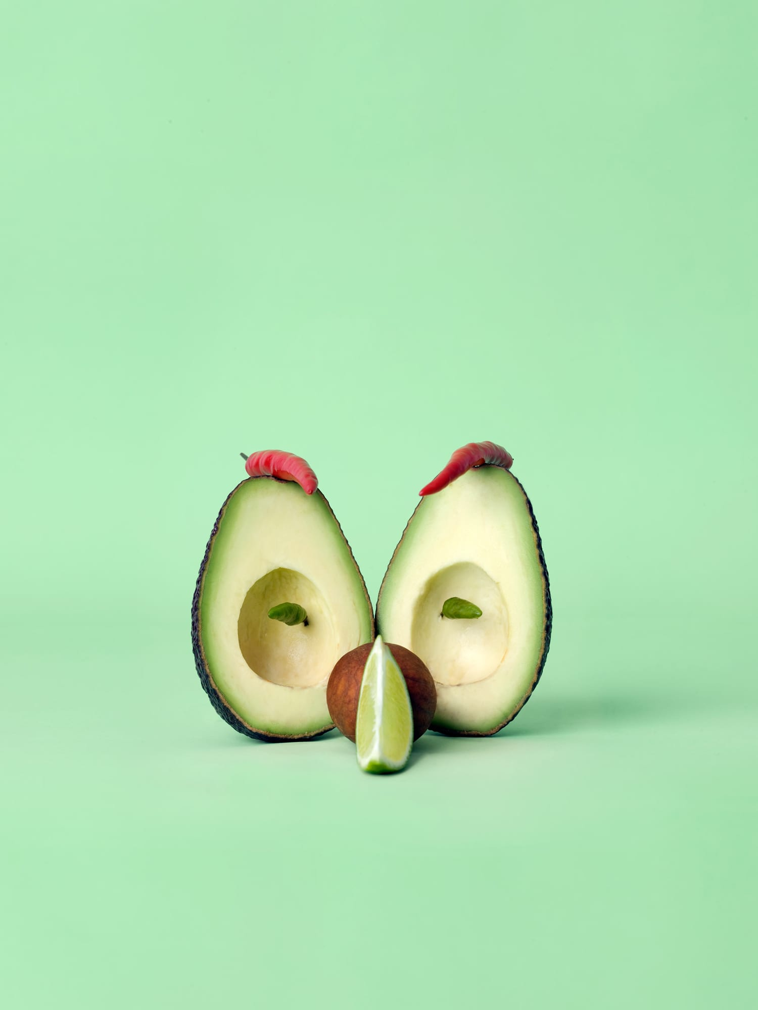 Macho Avocado Mask by Carl Kleiner | Yellowtrace