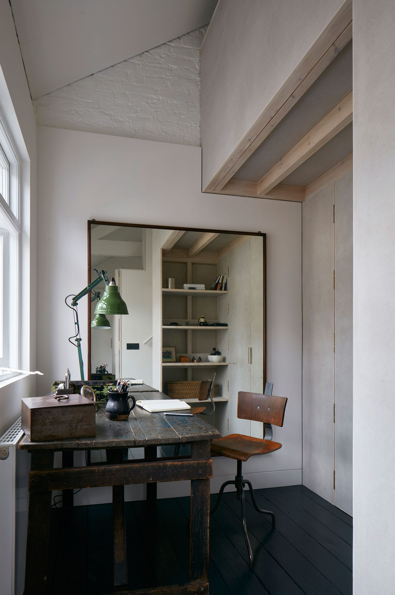 Minimalist Live Work Space In Greater London, UK By Jonathan Tuckey Design  | Yellowtrace