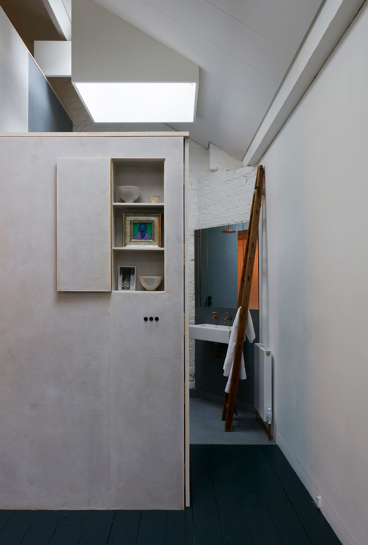 Minimalist live work space in london by jonathan tuckey design - Small work spaces minimalist ...