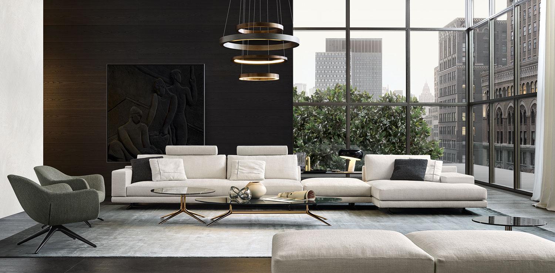 Poliform Mondrian Sofa By Jean Marie Massaud Yellowtrace