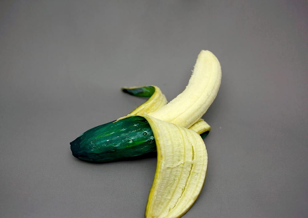 Painted Foods Disguised as Other Foods by Hikaru Cho | Yellowtrace