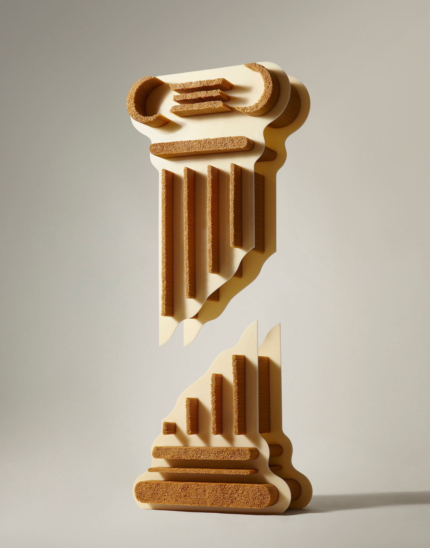 Pasta Pillar by Gemma Tickle & Photographed by Aaron Tilley for The Gourmand   Yellowtrace