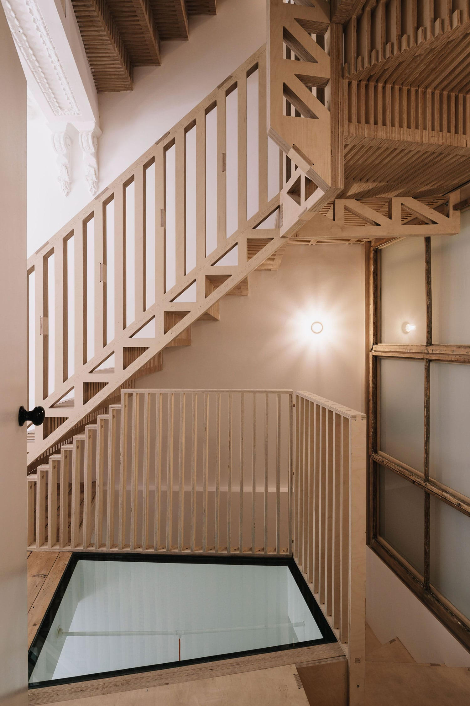 Radical Refurbishment of a Former Squat House in East London by Tsuruta Architects | Yellowtrace