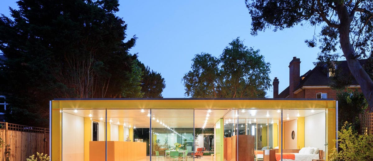 Richard Rogers' 1960 Wimbledon House Renovation by Philip Gumuchdjian & Todd Longstaffe-Gowan | Yellowtrace