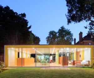 Richard Rogers' 1960 Wimbledon House Renovation by Philip Gumuchdjian & Todd Longstaffe-Gowan | Yellowtrace