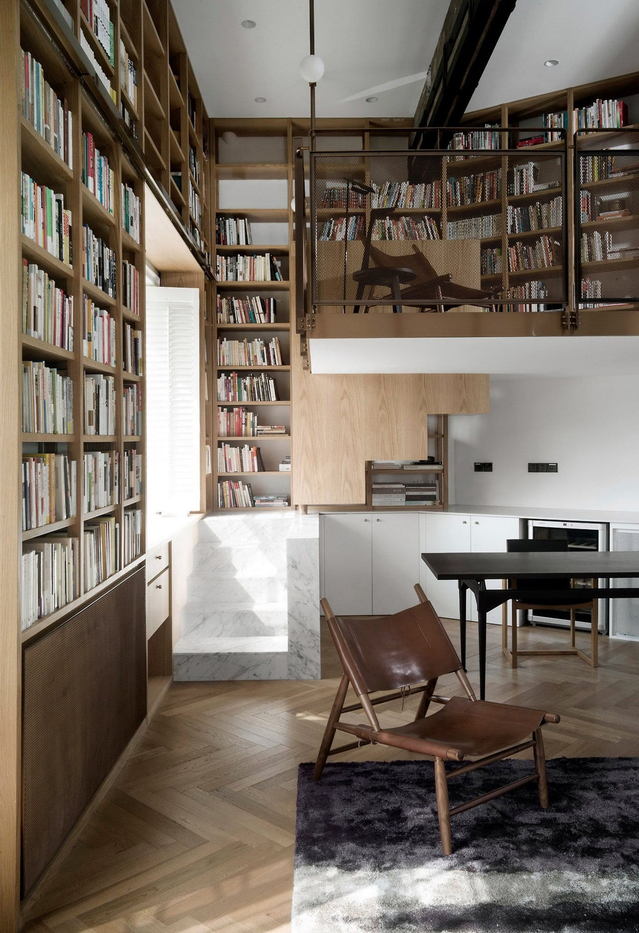 together how horizontal ceiling happy and is gallery bookcase build builtin bookshelves room decorated office billy bookcases to desk ladder floor with sliding where roselawnlutheran attach walltowall home shelves remodelaholic