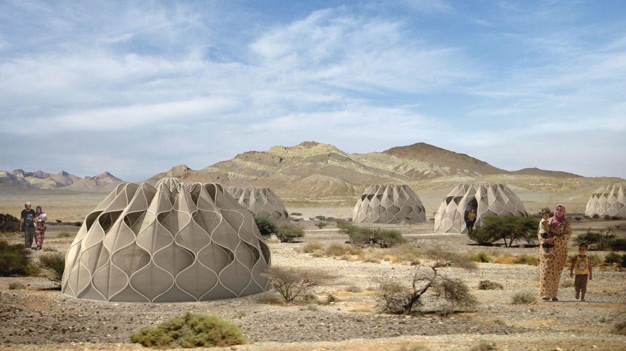 Abeer Seikaly Structural Fabric Shelters Weave Refugees Lives Back Together | Yellowtrace