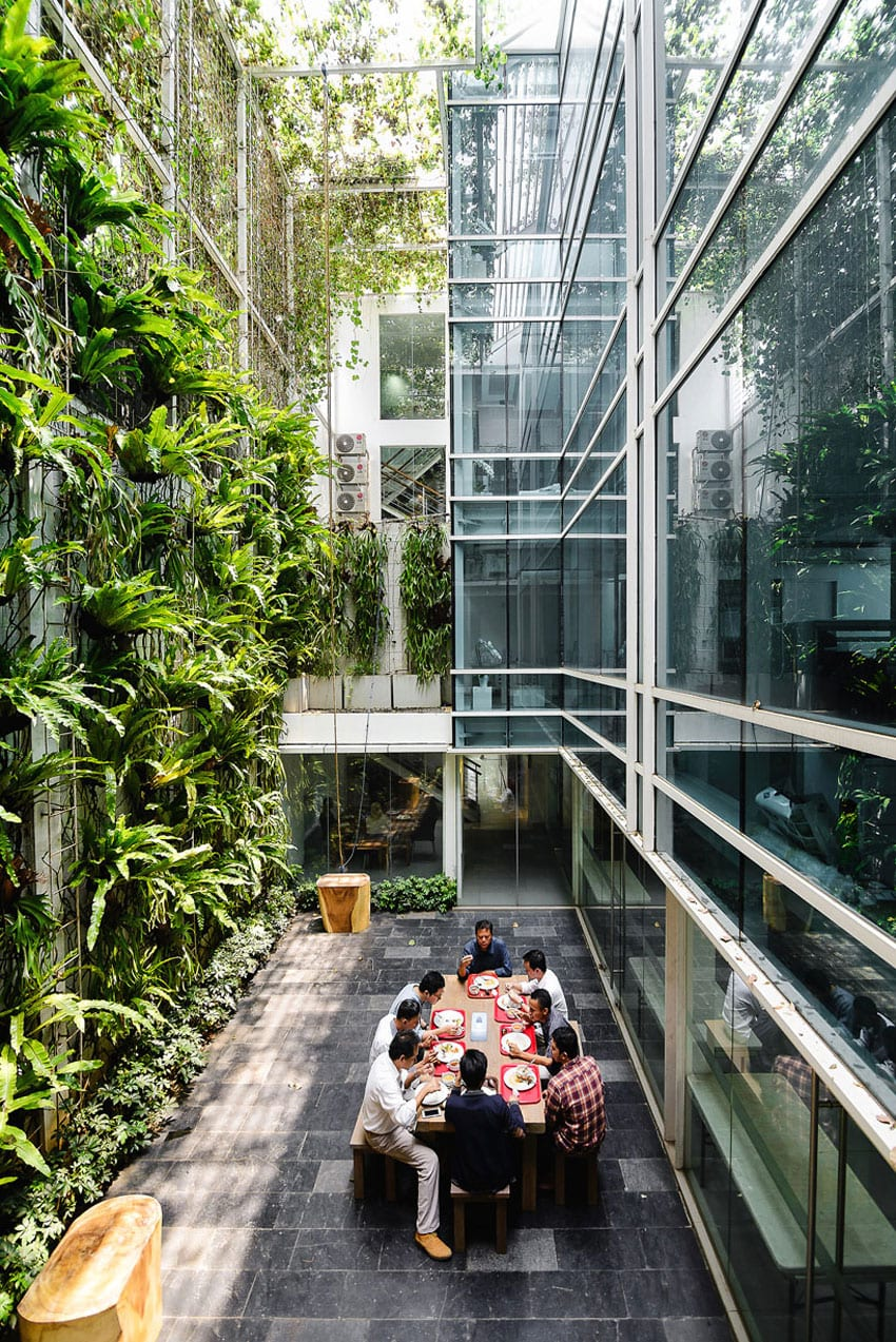 Airmas Asri Architects Office in Jakarta | Yellowtrace