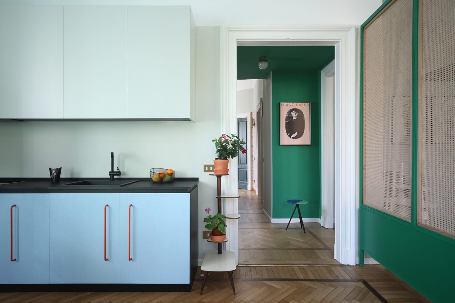 Apartment Renovation in Milan by Marcante-Testa | Yellowtrace