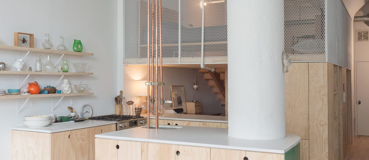 Amazing Bed Stuy Loft In Brooklyn New York By New Affiliates Home Interior And Landscaping Eliaenasavecom