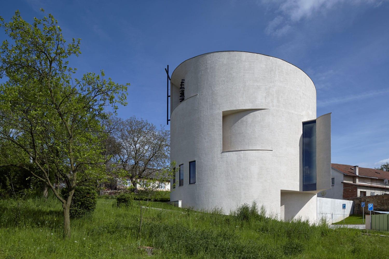 Church of St. Wenceslas in Sazovice, Czech Republic by Atelier Stepan | Yellowtrace