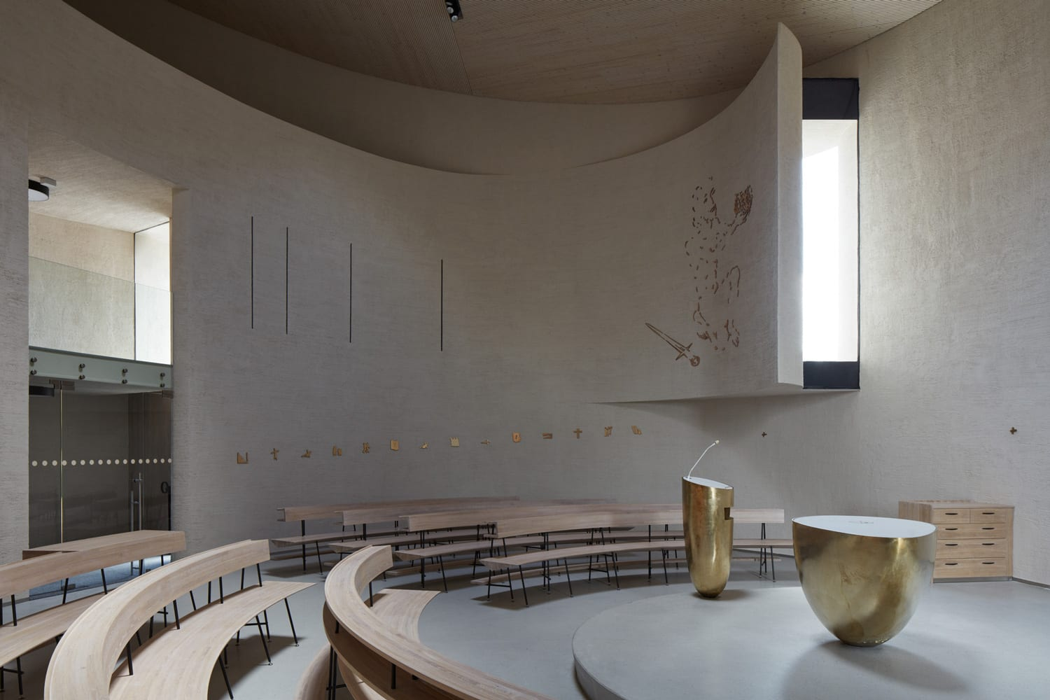 Church of St. Wenceslas in Sazovice, Czech Republic by Atelier Stepan | Yellowtrace