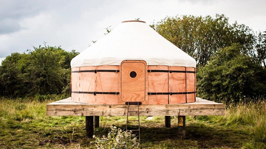 Jero Flat Pack Yurt by Trakke & Uula Jero | Yellowtrace