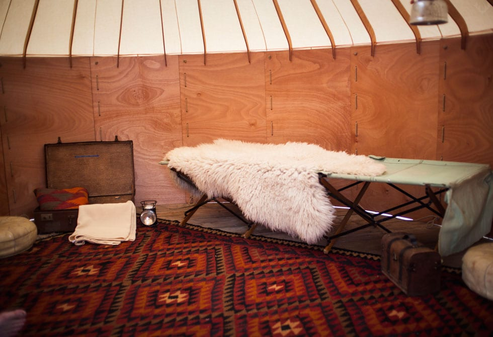 Jero Flat Pack Yurt by Trakke & Uula Jero | Yellowtrace