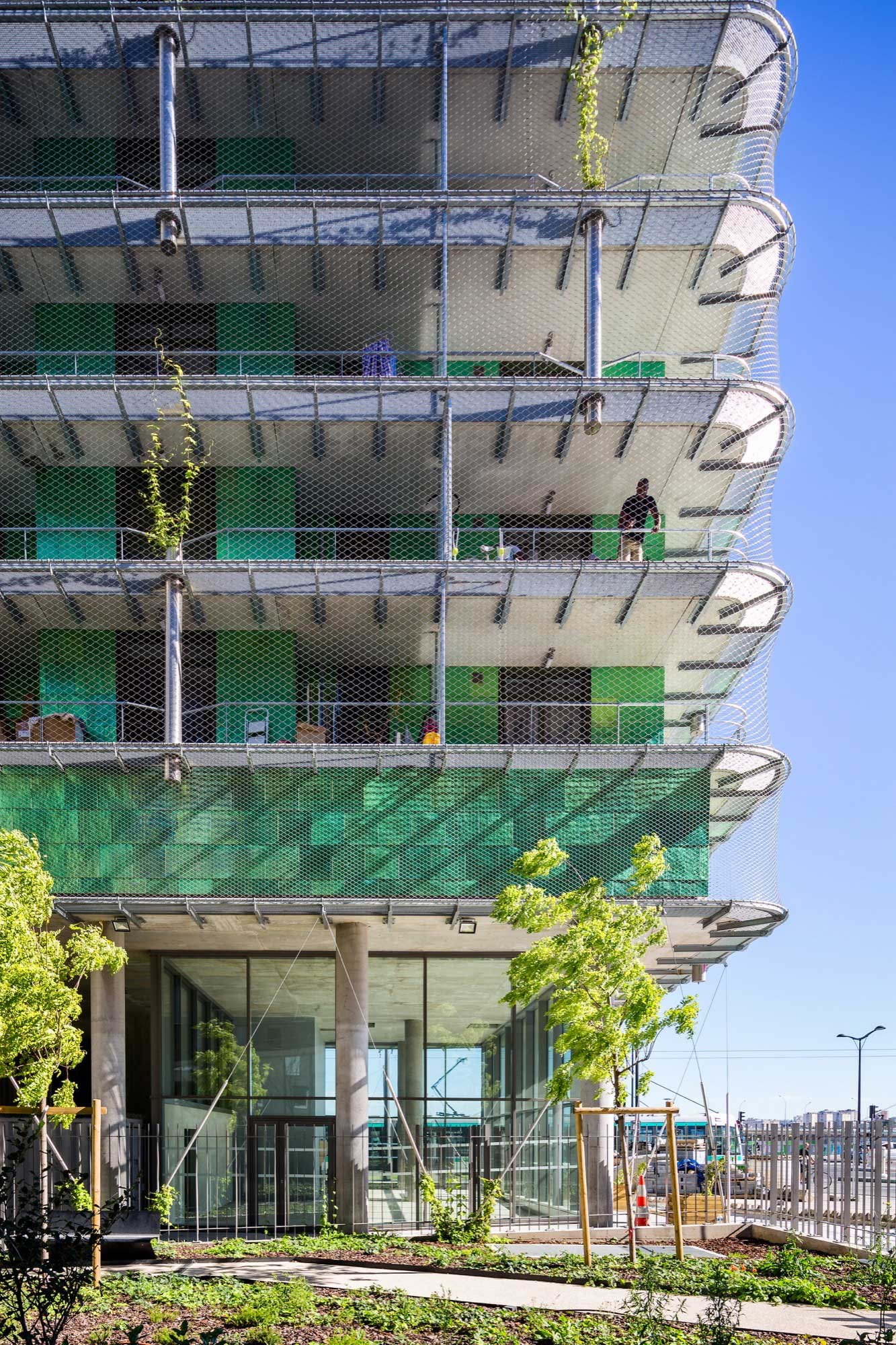 M6B2 Tower of Biodiversity in France by Maison Edouard Francois | Yellowtrace