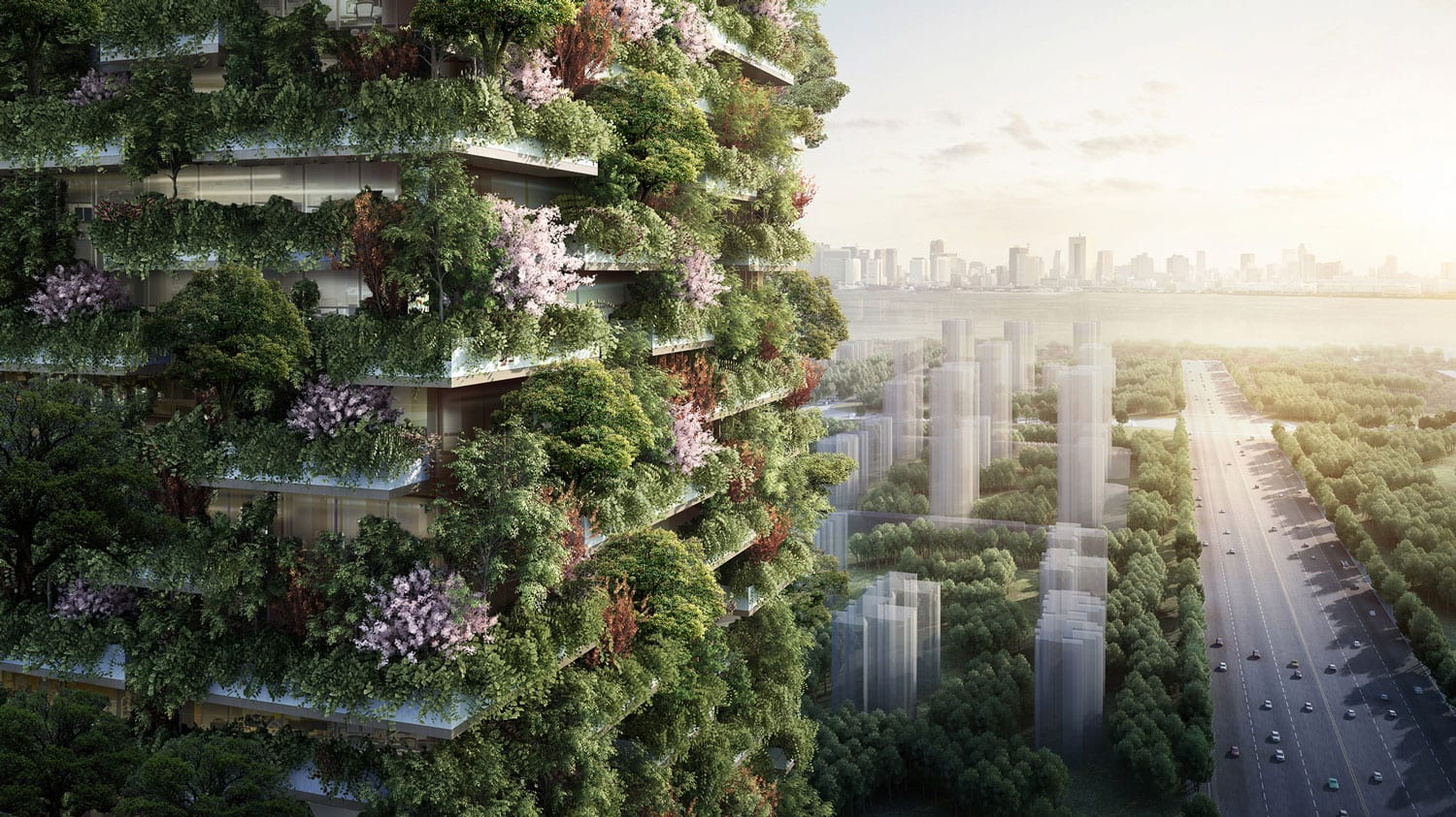 Nanjing Vertical Forest by Stefano Boeri Architetti | Yellowtrace