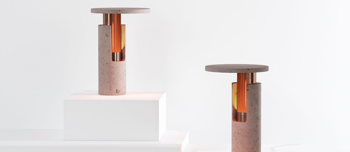 New Volcanic Rock & Copper Lamps by Young Mexican Brand davidpompa | Yellowtrace
