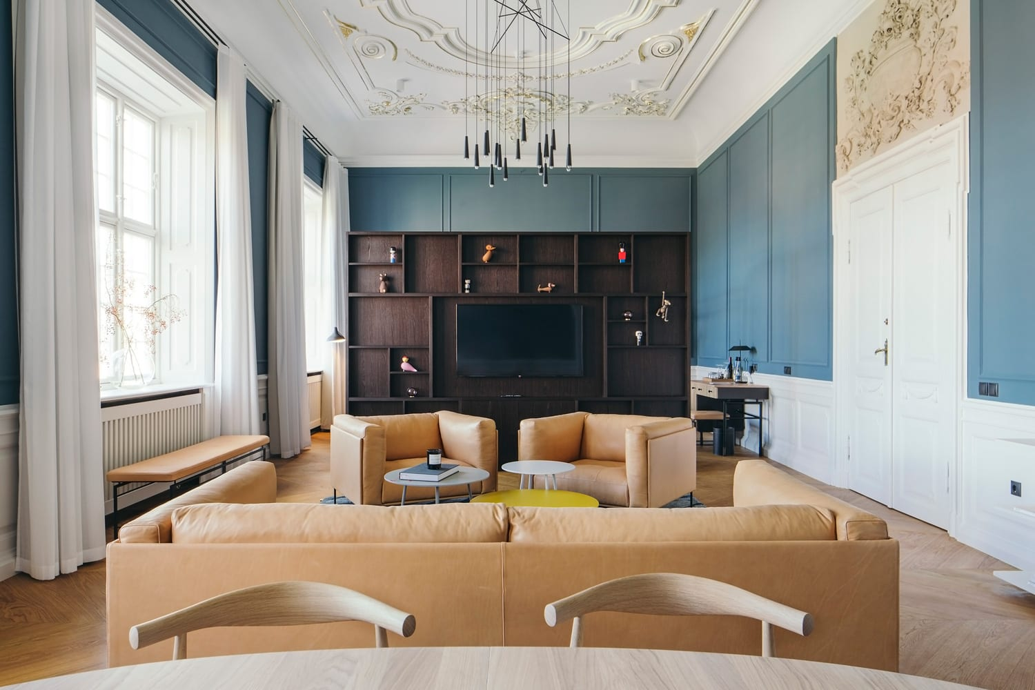 Nobis hotel copenhagen refurbished by wing rdhs yellowtrace for Design hotel copenhagen