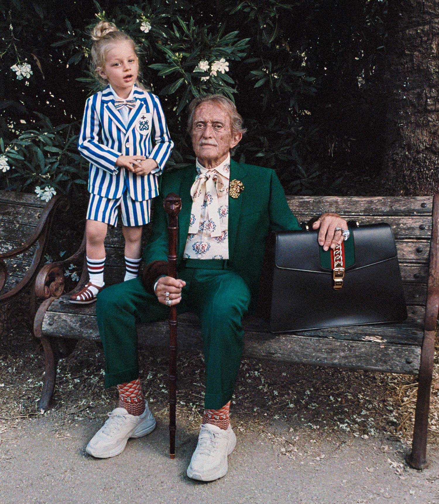Rome Residents Star in Gucci's Awesome Cruise 2018 Campaign Shot by Mick Rock | Yellowtrace