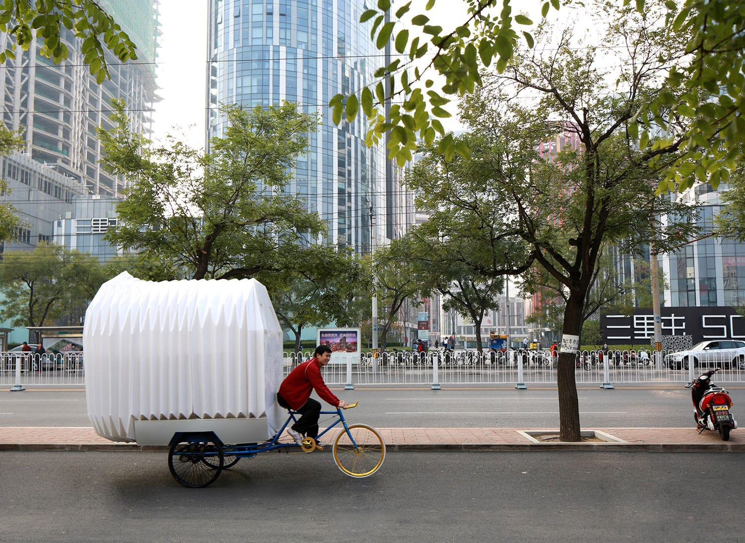 Tricycle House by Peoples Architecture Office | Yellowtrace