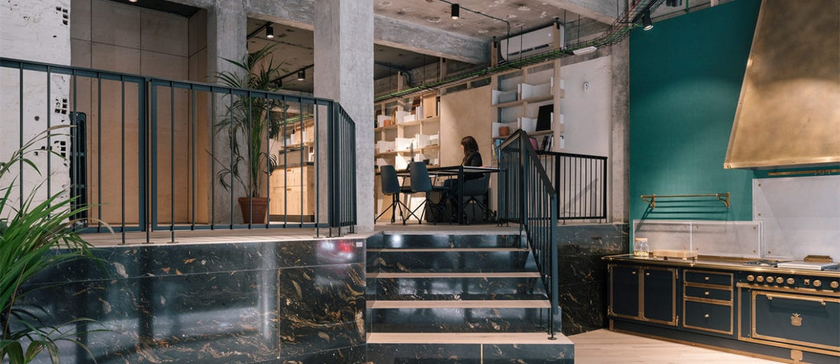 VONNA Kitchen Showroom in Madrid, Spain by PYO arquitectos | Yellowtrace
