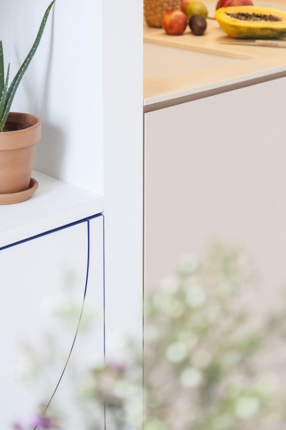Micro Living: 11-square-metre Apartment in Paris by Batiik Studio | Yellowtrace