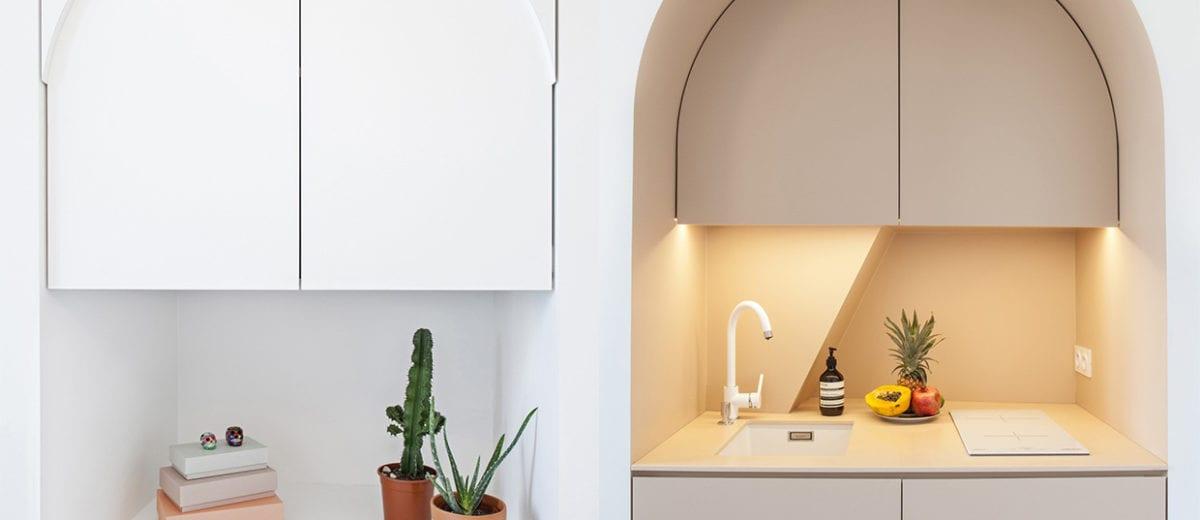11m² Micro Apartment In Paris By Batiik Studio Yellowtrace